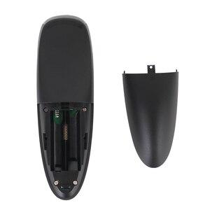 Image 4 - Controle remoto g10 com voz de 2.4g, controle remoto wireless com mouse aéreo e microfone para tv box android/x96 mini/t9/h96 max/tx6