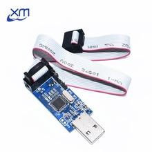 10 pièces nouveau USBASP USBISP AVR programmeur USB fai USB ASP ATMEGA8 ATMEGA128 Support Win7 64K
