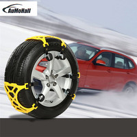 1 Kit Univercal Auto Car Snow Anti Skid Chains Winter Snow Chains Vehicles Wheel Antiskid Non