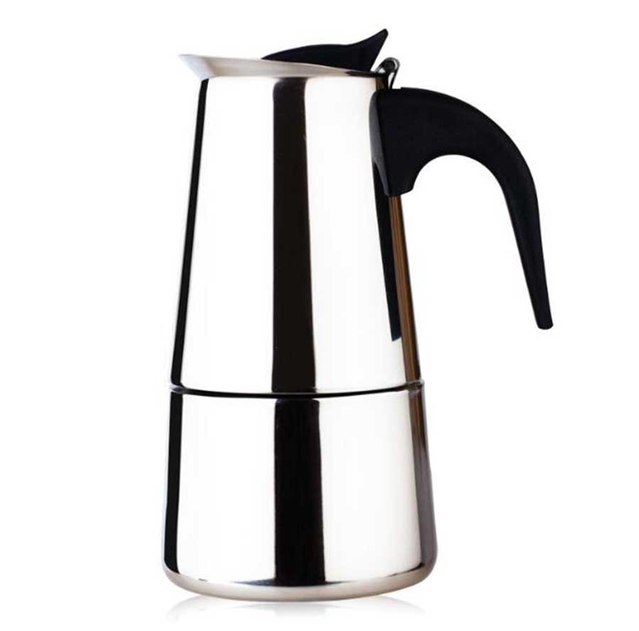 Stainless Steel Coffee Pot Used For Italian Espresso Machine  Potable Induction Cooker Coffee Pot D097