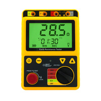 AR4105A/B digital grounding resistance test instrument lightning protection tester 2000OHM megohmmeter