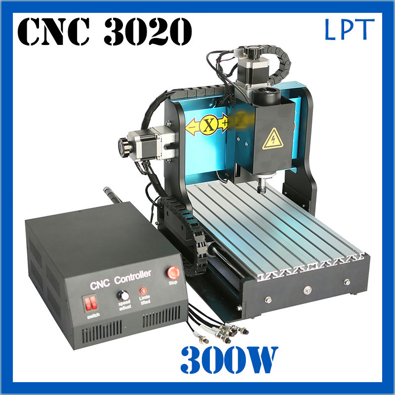 JFT cnc 3020 router 300w  Mach3 System with LPT Port High Speed Engraving Machine Use Ball Screw jft high precision cnc router cutting machine 300w spindle motor 4 axis cnc engraver with lpt port 3020