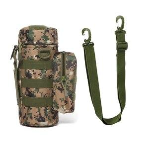 Дорожный набор инструментов для чайника, походная Тактическая Военная система Molle, сумки для воды, наплечный держатель для бутылки, многофункциональный чехол для бутылки