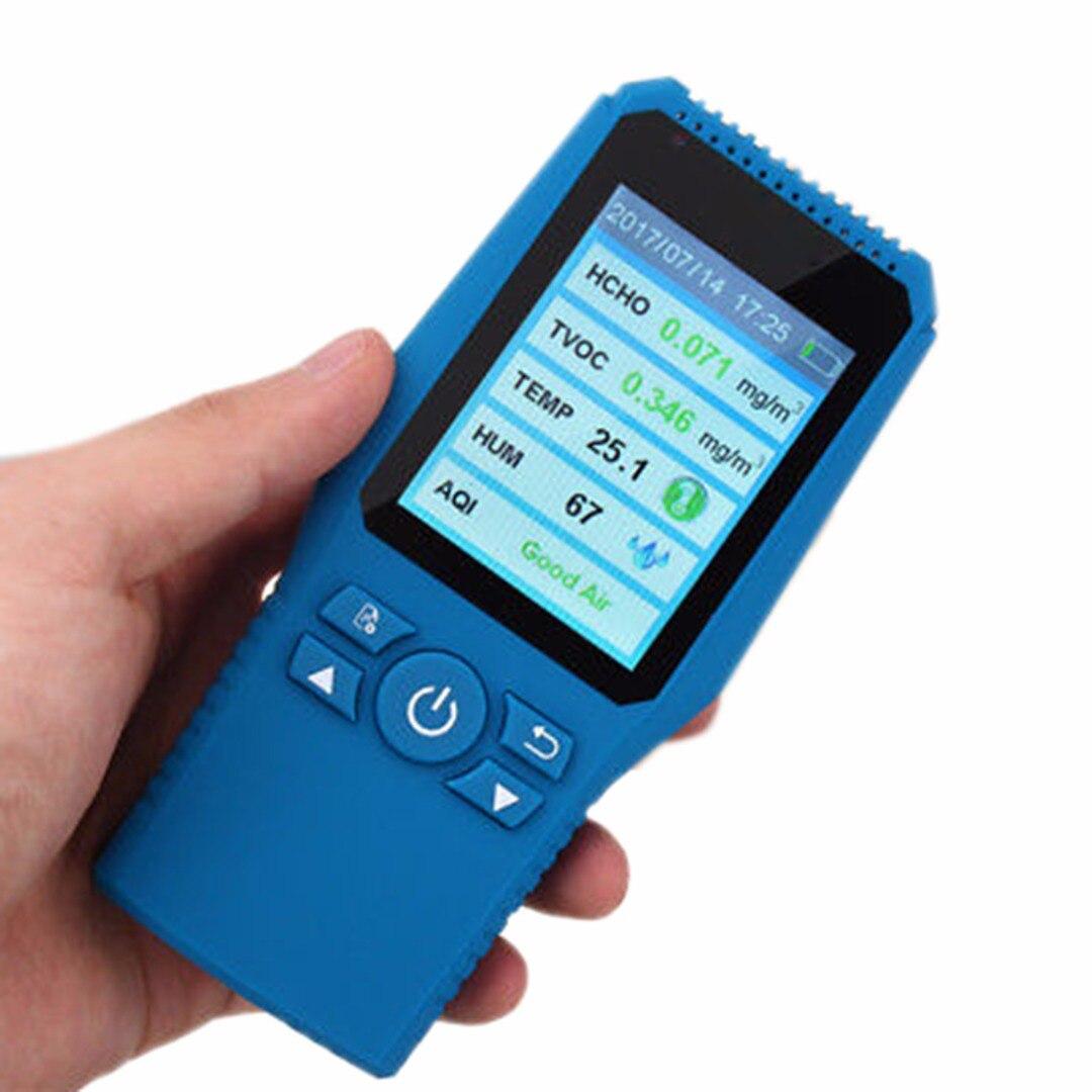 Mayitr LCD Digital Environment Formaldehyde Detector HCHO TVOC PM2.5 Meter Air Gas Quality Tester Air Analyzers free shipping hcho