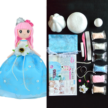 Slime Supplies New Arrival Slime Clay DIY Set Kit Slime Birthdays Christmas Gift For Girl Western Princess Doll Handwork Clay