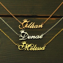 개인 Necklace, Name Necklace, Custom Name Necklace, Personalized Name 판 보석, 합금 목걸이(China)