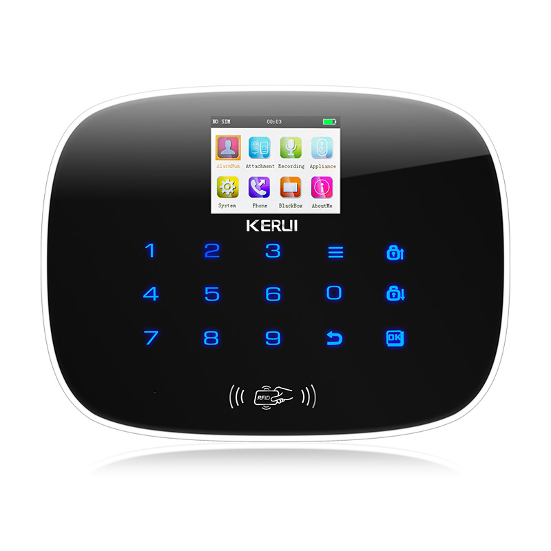 KERUI G19 GSM RFID Card Touch Screen Android IOS APP remote control Alarm System Home Security