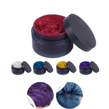 5 Colors DIY Hair Color Non-toxic Temporary Pastel Hair wax hair Dye Salon Products Hot Sale