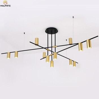 Nordic Modern Chandelier For Living Room Bedroom Lustre Luminaire LED Chandeliers Industrial Decor Indoor Lighting Fixtures Lamp