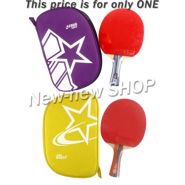 Original DHS 2002 and 2006 table tennis rackets 2 stars with pimples in table tennis rubber finished rackets ping pong paddles