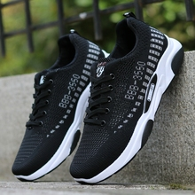2019 summer breathable mesh shoes hollow shoe mens sports deodorant work male cheap men sneakers Skateboarding