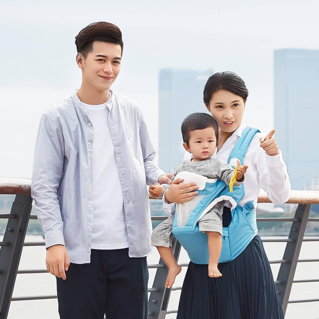 Sacs à dos porte-bébés ceinture taille quatre saisons multi-fonctionnel enfants tabouret banc bretelles chargement