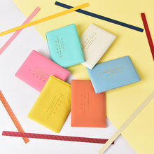 1PC Candy Color PU Leather on Cover for Car Driving Documents Card Holder Purse Wallet Case Auto Driver License Bag(China)