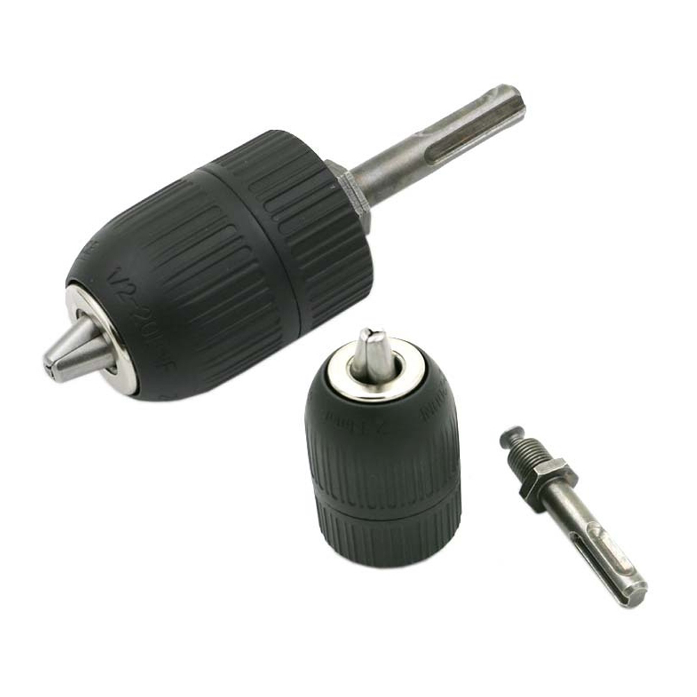 LHX High Quality Keyless Chuck Drill Quick Change Adapter Driver Shank Capacity for Electric Motor Grinder Dremel