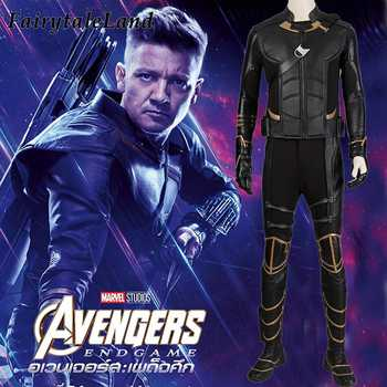 Avengers 4 Clinton Barton Hawkeye costume Halloween Costumes cosplay Avengers Endgame Superhero outfit with Quiver Custom Made - DISCOUNT ITEM  15% OFF All Category