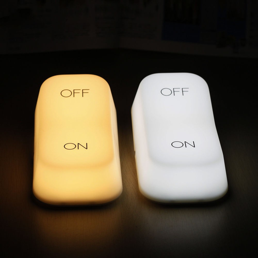 OnOff Switch Style Desk Lamp Gravity Sensor Keyboard Home Decorate Light Usb Table Night Lamp (1)