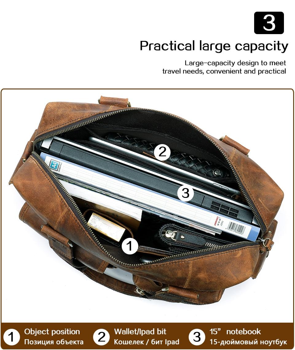HTB1kOjSX42rK1RkSnhJq6ykdpXaT MVA Genuine Leather Men's Briefcase Messenger Bag Men's Leather Laptop Bag For men Office Bags For Men Briefcase Handbags 8537