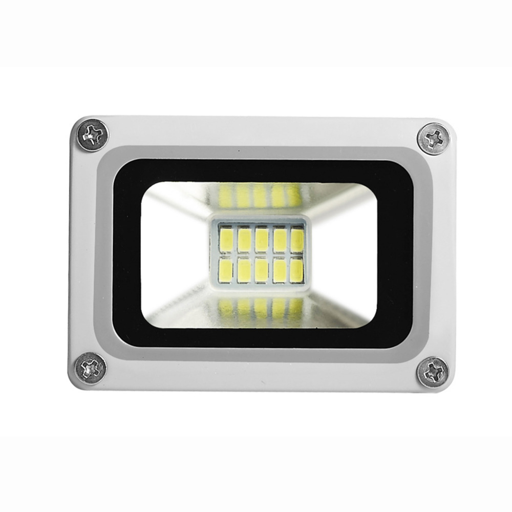 2PCS GERUITE LED Floodlight 10W 220V 10 LED 1100LM 5730 SMD Outdoor Lights For Street Square