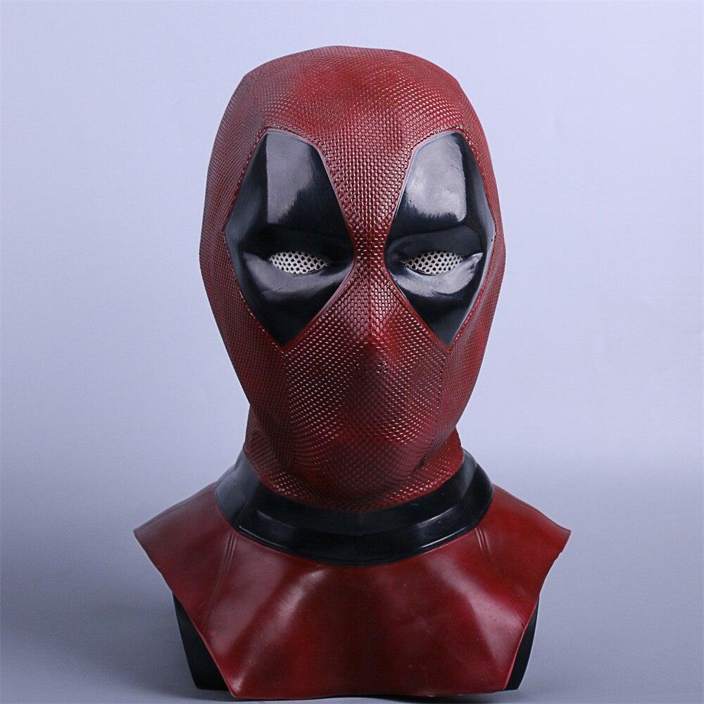 Deadpool Cosplay Leder Maske Kostüm Submarine Deuce Mascara Maskesi Großvater Mascaras Disfraces Hohe Qualität Deluxe Latex
