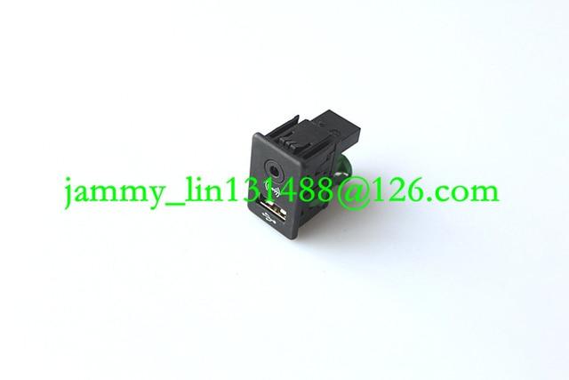 US $8 53 5% OFF|FREE SHIPPING OEM 2 IN 1 USB AUX Switch for RCD510 RNS510  RNS315 RCD500 RNS300 RCD300 RCD200 GOLF MK6 JETTA MK5 Sagitar Vento-in