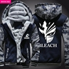 2017 New Arrival Winter Warm Death Hoodies Hot Anime Hooded Coat Thick Zipper Cardigan Jacket Sweatshirt