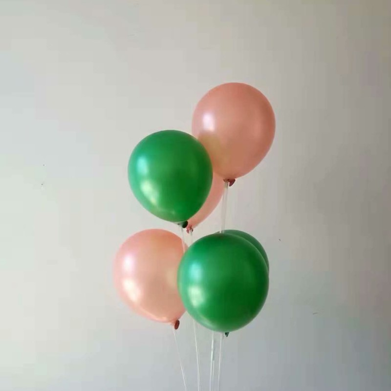 air ball 50pcs/lot12 inch 3.2g pearl green latex balloons kids baloons birthday party decorations adult ballon wedding supplier