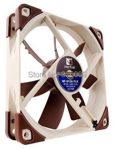 Brand new original, Noctua NF-S12A-FLX fan, 120mm, Silent 7.4dBA, 3pin fan SSO 2 generations bearing | 1200RPM segotep halo 12 silent casing fan