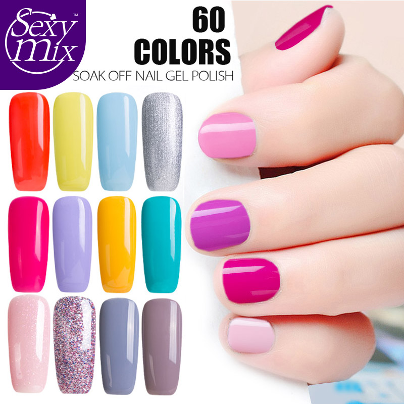 ⑥2017 Newest 9ML Fashion UV Nail Gel Gorgeous Nude Pink Color Nail ...