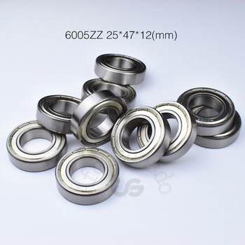 6005ZZ 25*47*12 (mm) 1 pieza envío gratis teniendo ABEC-5 de metal de cojinetes de rodamiento de acero cromado 6005 6005Z 6005ZZ