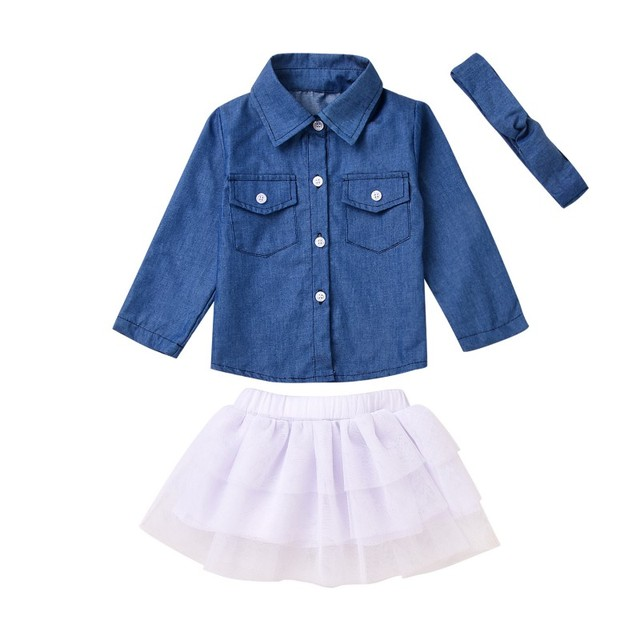 Toddler Kids Baby Clothes...