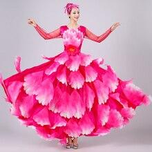 Испанская коррида танец живота платье юбка длинный халат фламенко юбки для девочек красный фламенко платья для женщин девочек DL2887