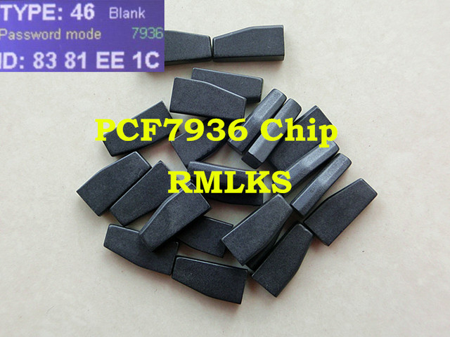 RMLKS Car Key Transponder PCF7936AA/AS ID46 Chip Fit For Nissan For Peugeot For Citroen For Honda