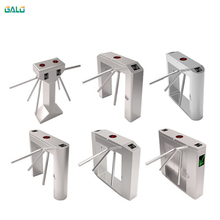 Entrance and exit gate,card swipe entrance machine tripod turnstile/people access control tripod gate rfid access control swing gate turnstile for outdoor access gate