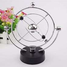 Funny Planet Celestial Universe Kinetic Orbital Galaxy Wiper Newton Pendulum Home Office Table  Decoration