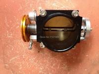 UNIVERSELE CNC HIGH FLOW INTAKE GASKLEPHUIS 70 MM ZWART fit voor HONDA TOYOTA NISSAN VW...