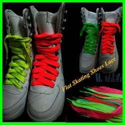 5 пар модные Универсальные световой светящиеся неоновые Шнурки парусиновая Обувь для танцев оптовая продажа