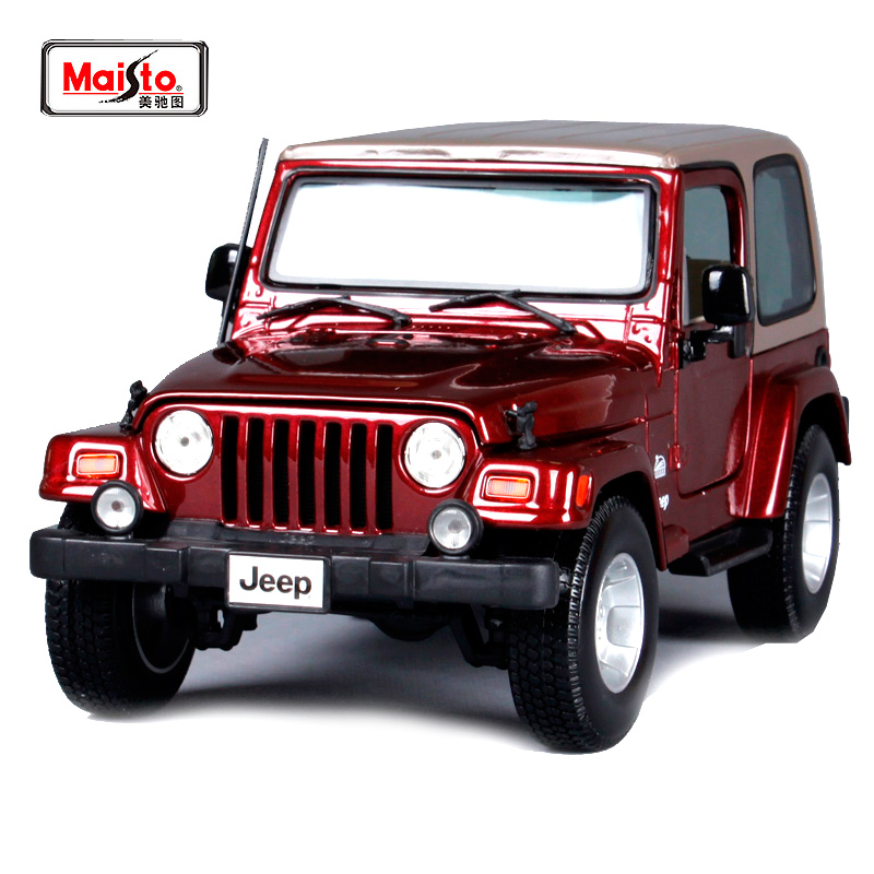Maisto 1:18 JEEP WRANGLER Sahara SUV Car Diecast Model Car Toy New In Box Free Shipping 31662 худи print bar флаг азербайджана