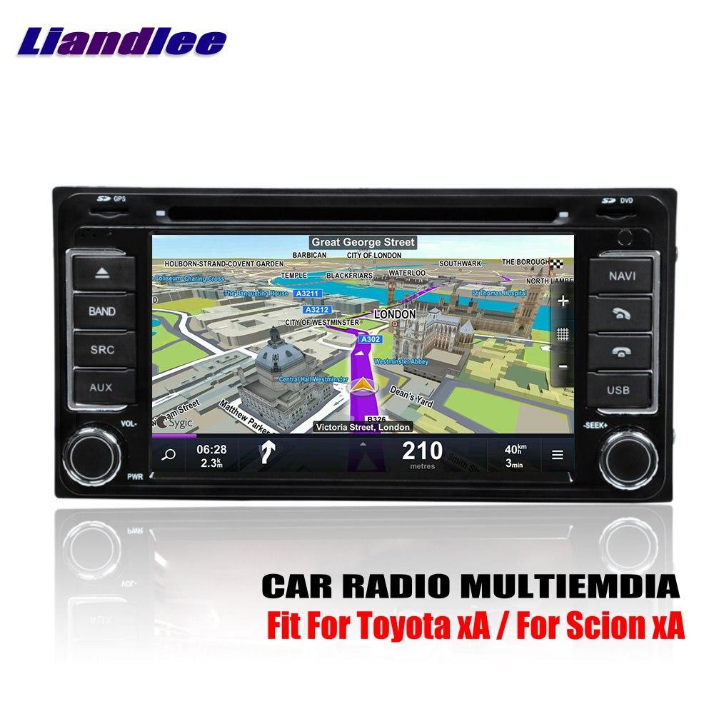 Liandlee Pour Toyota xA/Pour Scion xA 2004 ~ 2006 Android Voiture Radio CD Lecteur DVD GPS Navi Navigation des cartes Caméra OBD TV HD Écran