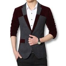 Fashionable Men Blazers Good Quality 2016 Business Dress Men Suits Brand Men Outwears Coats Spring Autumn Slim Fits Men Coats
