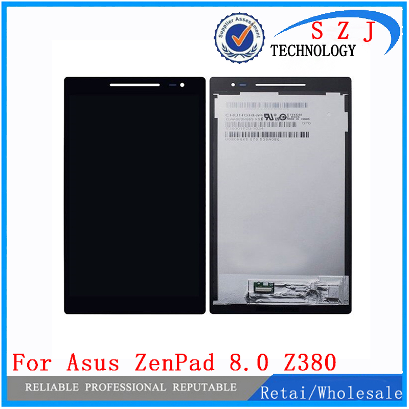 New 8 inch LCD DIsplay + Touch Screen Digitizer Assembly For Asus Zenpad 8.0 Z380 Z380KL Z380CX Z380CX Z380C P024 Free shipping new 5 5 inch full lcd display touch screen digitizer assembly replacement for asus zenfone 3 zoom ze553kl free shipping