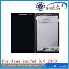 Новые 8 дюймов для Asus Zenpad 8,0 Z380 Z380KL Z380CX Z380CX Z380C Z380M P024 ЖК-дисплей дисплей + кодирующий преобразователь сенсорного экрана в сборе