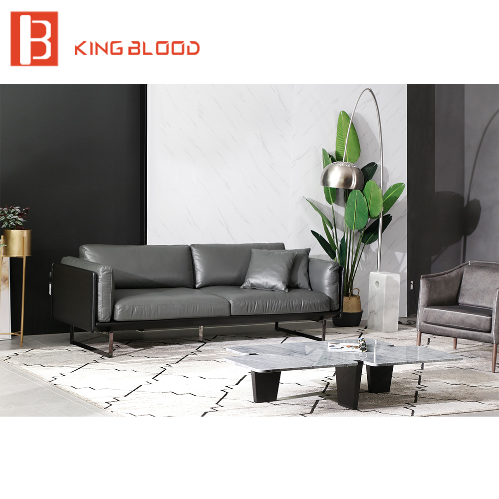 Italian Sectional High Quality Living Room Leather Sofa ...