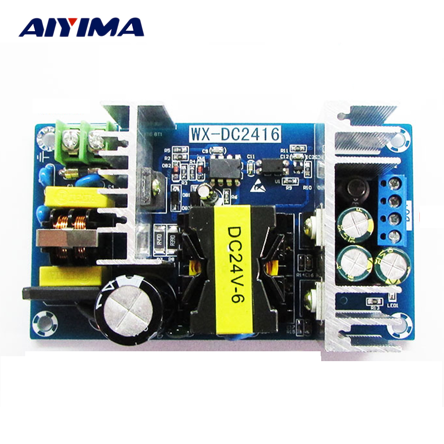 AC-DC 24V 6A150W Switching Power Supply Module AC 110V 220V  To DC 24V High Power Industrial Switching Power Board 24v 0 5a power module 220v to 24v ac dc direct switching power supply isolated hb24n05