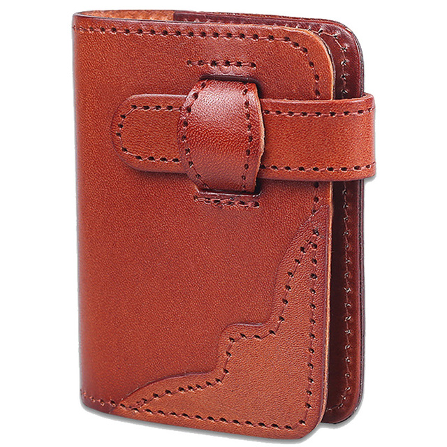 Wholesale Hot 20 Cards Men Women Wallets Brand Designer Genuine Leather Cowhide Short Ladies ID Holders Purse Card Holder C051