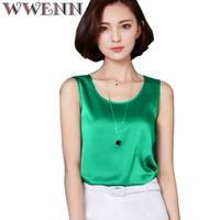 Camisas mujer vetement femme womens summer tops fashion 2017 silk tanks t shirt women shirt clothes.jpg 200x200