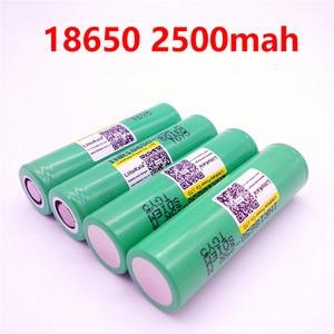 Image 2 - 10 70 PCS Liitokala Originele 3.6 V 18650 2500 mAh batterij INR18650 25 RM 20A ontlading lithium batterijen