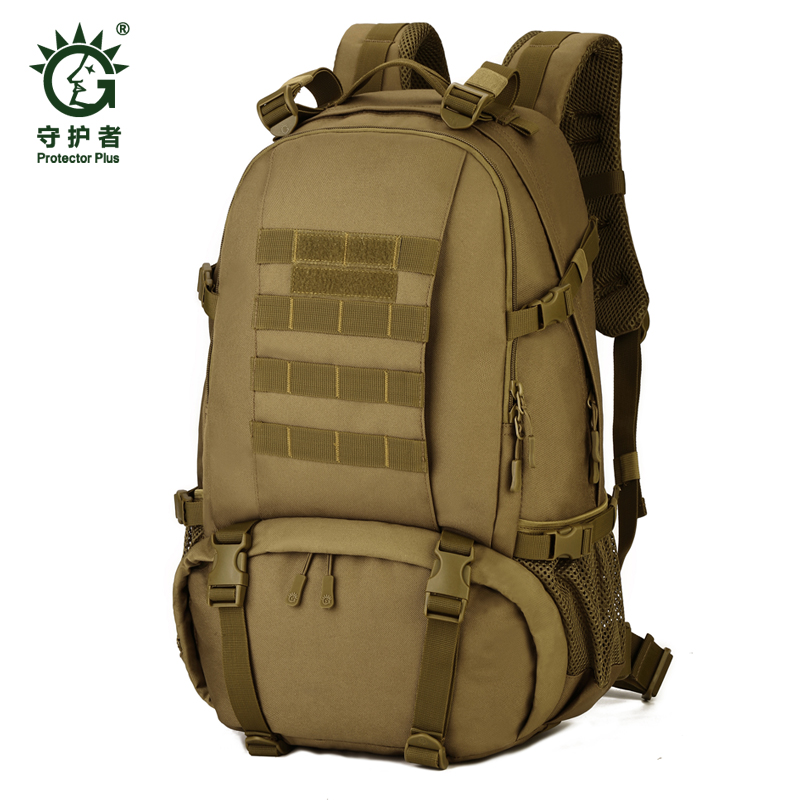 Outdoor 40 L Sport Climbing Camping school bag 3 Use shoulder bagTrekking Molle travel Bags Military