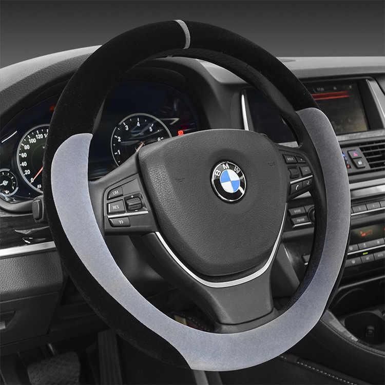 Автомобильный рукав рулевого колеса, Зимний короткий плюшевый держатель, набор 38 см, универсальная версия ручки, набор BT-807 для волос