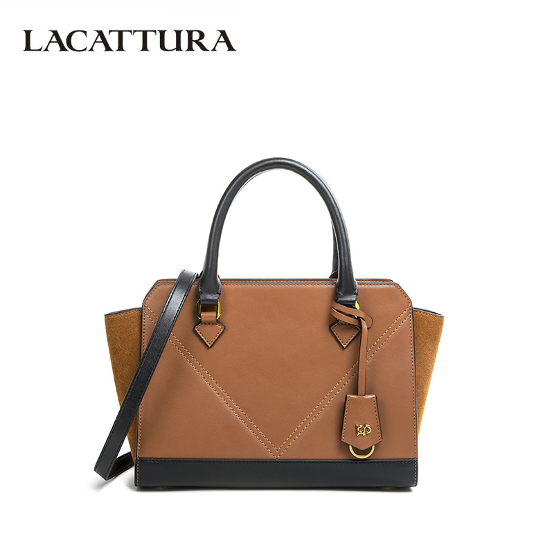LACATTURA Women Shoulder Bag High Quality Split Leather Messenger Bags Fashion Crossbody Bags for Ladies Luxury Handbag 2019 NewLACATTURA Women Shoulder Bag High Quality Split Leather Messenger Bags Fashion Crossbody Bags for Ladies Luxury Handbag 2019 New