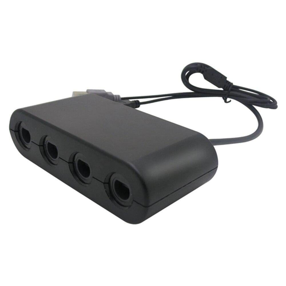 4 ports Player für GameCube Controller Adapter für Wii-U für schalter NS oder PC Griff Kombiniert Konverter Adapter